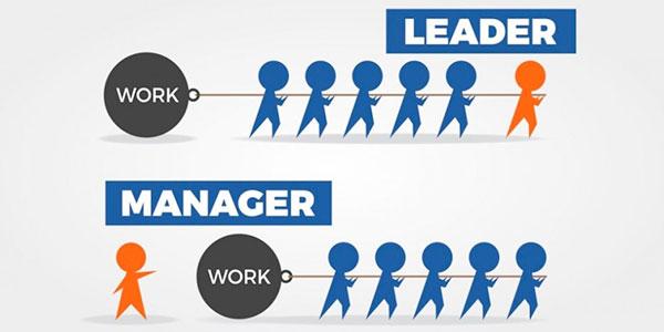 رهبری در مقابل مدیریت